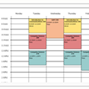 Free College Schedule Maker