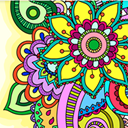 Mandala - adults coloring book
