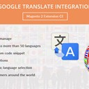 Google Translate Integration Magento 2 Extension